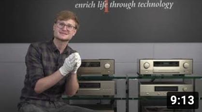 Unser YouTube Video zur Accuphase C-3900